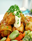 Cabbage Rolls Royalty Free Stock Photography