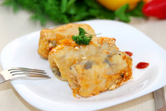 Cabbage rolls Stock Image