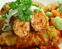 Cabbage Rolls Royalty Free Stock Images