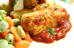 Cabbage Rolls Royalty Free Stock Photo