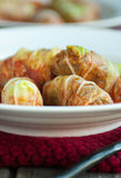 Cabbage Rolls with Ground Beef Royalty Free Stock Photography