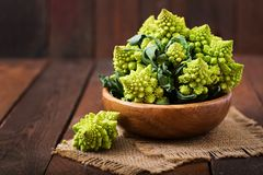 Cabbage romanesco Stock Photos