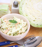 Cabbage salad Royalty Free Stock Images