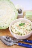 Cabbage salad Stock Image