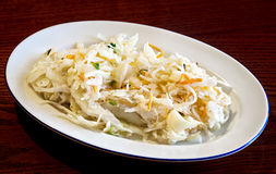 Cabbage salad Stock Photography