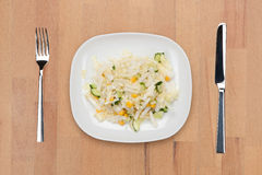Cabbage salad royalty free stock photography