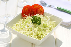 Cabbage salad Royalty Free Stock Photos