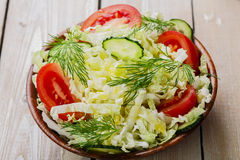 Cabbage salad Stock Images