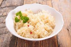 Cabbage,sauerkraut Stock Photography