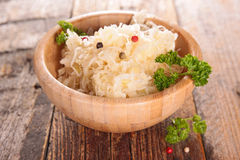 Cabbage,sauerkraut Stock Image