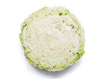 Cabbage slice Stock Image