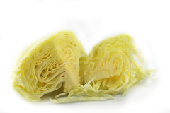Cabbage sliced Royalty Free Stock Image