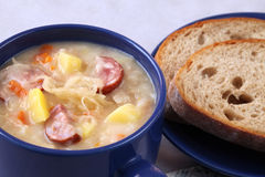 Cabbage soup Royalty Free Stock Photography