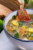 Cabbage stew with meat Stock Images