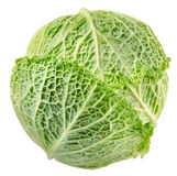 Cabbage top view Royalty Free Stock Images