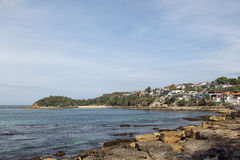 Cabbage Tree Bay Stock Image