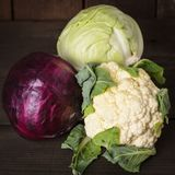 Cabbage types Royalty Free Stock Photography