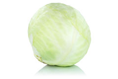Cabbage vegetable isolated Royalty Free Stock Image