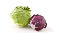 Cabbage on white Royalty Free Stock Photography
