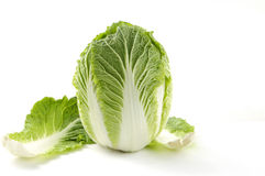 Cabbage on white Stock Photo