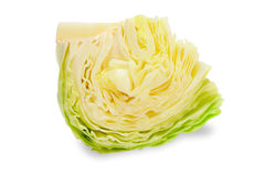 Cabbage on white background Stock Image
