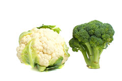 Cabbage on a white background. Royalty Free Stock Photo
