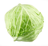 Cabbage on white background Stock Photo