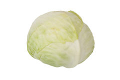 Cabbages isolated on a white background Royalty Free Stock Image