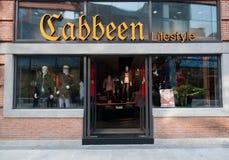 Cabbeen lifestle shoppar på den Han gatan Royaltyfria Foton