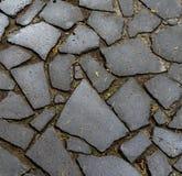 Cabblestone trottoar Royaltyfri Foto