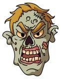 Cabeça assustador do zombi Imagem de Stock