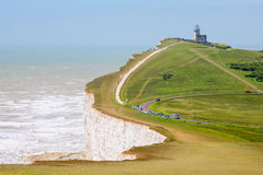 Cabeça Beachy. Sussex do leste, Inglaterra, Reino Unido Fotografia de Stock Royalty Free