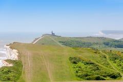 Cabeça Beachy Sussex do leste, Inglaterra, Reino Unido Imagens de Stock