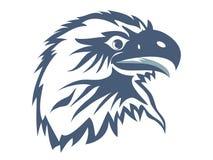 Cabeça da águia Fotos de Stock Royalty Free