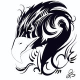 Cabeça da águia Imagem de Stock