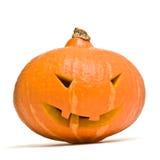 Cabeça da abóbora de Halloween Foto de Stock Royalty Free