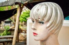 Cabeça da boneca suja do manequim Imagens de Stock Royalty Free