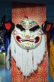 Cabeça da dança do leão Imagens de Stock Royalty Free