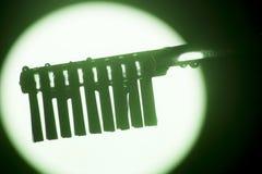 Cabeça da escova da escova de dentes imagens de stock