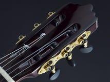 Cabeça da guitarra fotografia de stock