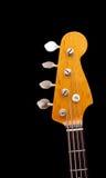 Cabeça da guitarra baixa Fotografia de Stock