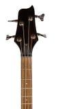 Cabeça da guitarra-baixo elétrica Fotografia de Stock Royalty Free