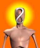 A cabeça da infinidade Foto de Stock Royalty Free