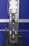 Cabeça da máquina de testes Fotografia de Stock Royalty Free