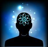 Cabeça da mente humana Fotografia de Stock Royalty Free