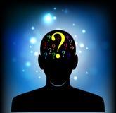 Cabeça da mente humana Imagens de Stock