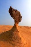 Cabeça da rainha da rocha em Formosa Fotografia de Stock Royalty Free