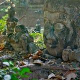 Cabeça de Buddha Fotos de Stock