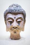 Cabeça de Buddha isolada Imagens de Stock