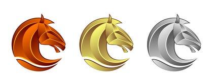 Cabeça de cavalo ilustração stock